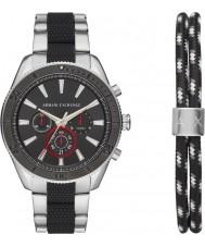 Armani Exchange AX7106 Set regalo per orologio sportivo da uomo