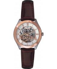 Rotary GS90511-21 Mens les originales Giura scheletro automatico rosa orologio d'oro