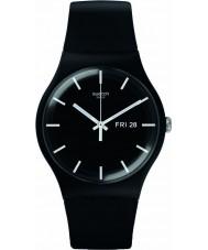 Swatch SUOB720 New Gent - Orologio nero mono