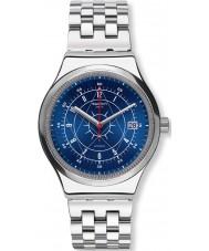 Swatch YIS401G sistem Mens orologio da polso in acciaio d'argento boreale