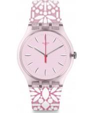 Swatch SUOP109 Orologio da donna fleurie