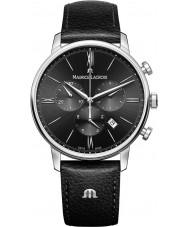 Maurice Lacroix EL1098-SS001-310-1 Mens Eliros in pelle nera cinturino del cronografo