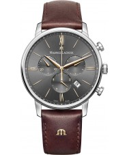 Maurice Lacroix EL1098-SS001-311-1 Mens Eliros pelle marrone orologio cinturino del cronografo