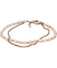Fossil JA6851791 Abbigliamento donna rosa bracciale in acciaio oro