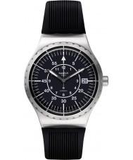 Swatch YIS403 Mens sistem freccia orologio cinturino in caucciù nero